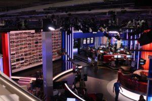 Ref 150426213736mclw Sky News Studio & Video Wall w live streams-s