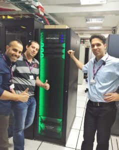 InfiniBox וצוות אופק טכנולוגיות