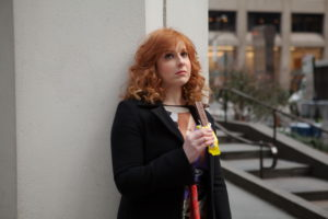 """DIFFICULT PEOPLE -- """"Unplugged"""" Episode 201 -- Pictured: Julie Klausner as Julie Kessler -- (Photo by: Linda Kallerus/Universal Cable Productions)"""