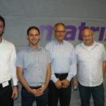 מימין- רן אדלר-סמנכל ייעוץ ב-2BSecure, איציק כוכב, נועם ויינבלט וניר פיינברג