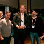 """מימין לשמאל: Santiago Solanas – VP Southern Europe at Cisco; נתי אברהמי - מנכ""""ל קבוצת טלדור;  אורן שגיא – מנכ""""ל סיסקו ישראל)"""