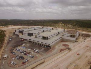 מרכז המיון דואר ישראל - מבט מלמעלה - צילום איגל צילומי אויר