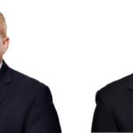משמאל לימין ג'פרי ברקוביץ ואליוט קוק
